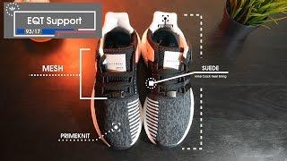 adidas eqt sostegno 93 / 17 revisione rispetto alla spinta e ultra