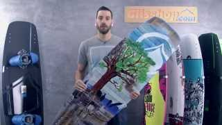 preview picture of video 'Wake - PEAK de Liquid Force by Glisshop 2014'