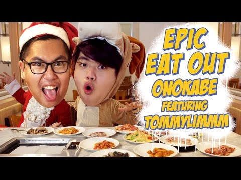 Video Epic Eat Out #11: Christmas Feast with TommyLimmm at Onokabe | PUTRA SIGAR