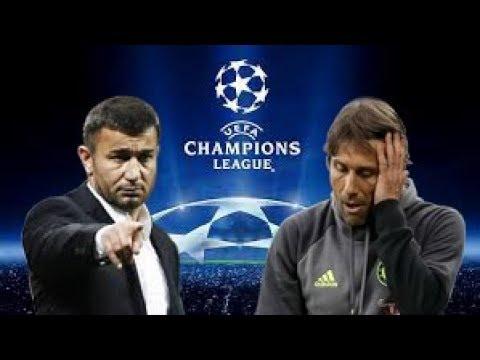 Qarabag - Chelsea PES 2017 turkçe spiker