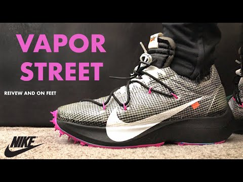 Off White Nike Vapor Street Black Review and On Feet