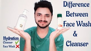 Difference Between Face Wash & Cleanser | Face Wash & Cleanser | Clear Skin