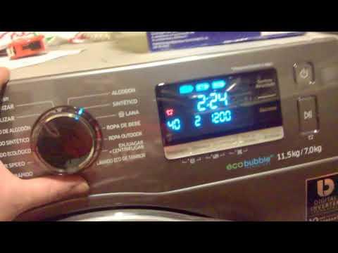 ✅ Lavasecadora Samsung WD11K6410