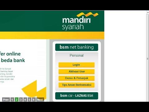 Cara Daftar BSM Net Banking