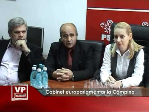 Cabinet europarlamentar la Câmpina