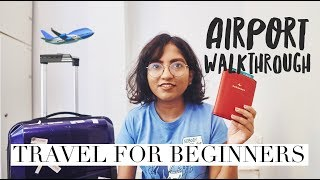 Indian Airport Process Step by Step for International Flights 🇮🇳🛫 // #MagaliTravels