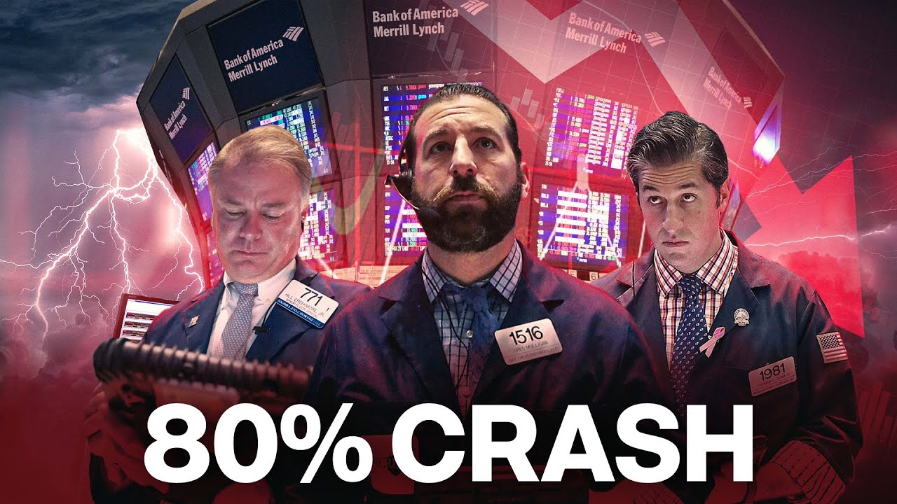 An October Stock Market Crash Is About To Burst With 80% Catastrophic Drop thumbnail
