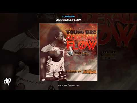 Young Dro - BooD Up Freestyle [Adderall Flow]
