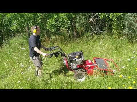 Hand guided Flail mower T 800 Produktivdeo