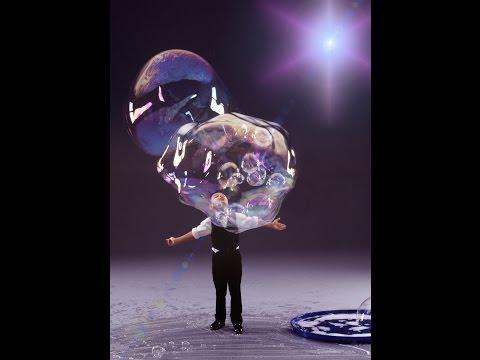 """דני יאנג - אמן הבועות שיוצר """"קסם"""" על הבמה"""