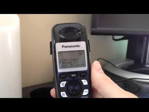 Panasonic KX-TGA-931T Ringtones