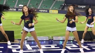 150624 두산 베어스 치어리더 - 홍진영 메들리