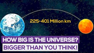 How Big Is The Universe?  Bigger Than You Think!