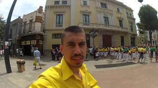 preview picture of video 'Vlog de l'Hospitalet de Llobregat 13 Juliol 2014'