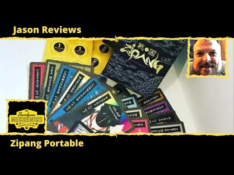 ZiPANG Portable Review - with Jason from The Boardgame Mechanics