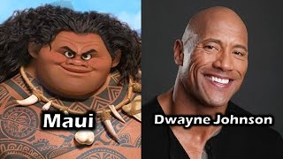 Characters and Voice Actors - Moana