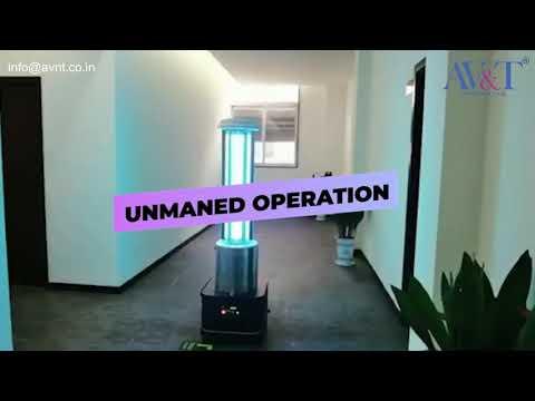 UV Disinfection Robots for Corona Virus