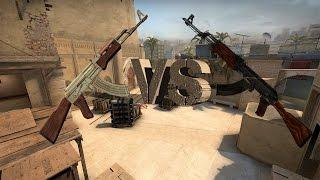 CSGO Guns VS CSCO Guns