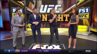 Nate Diaz Ask For Ariel helwani And DC On Fox Sport After Ariel Got Fired From Fox Sport.