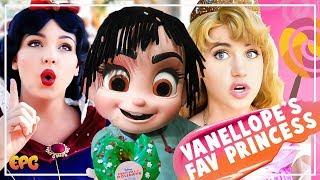 Vanellope Tells Me Her Favorite Disney Princess! Disneyland Festival Of Holidays