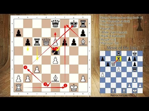 Helpless Queen cannot do anything | Yuri S Gusev vs E Auerbach (1946)