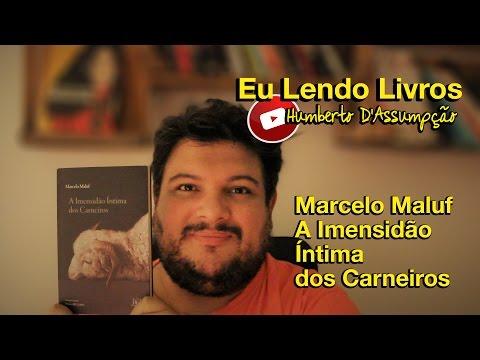 Eu Lendo Livros #01 - A Imensidão Íntima dos Carneiros, Marcelo Maluf - Eu Leio Livros