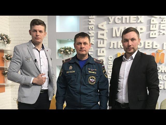Гость программы «Новый день» Андрей  Лопатин