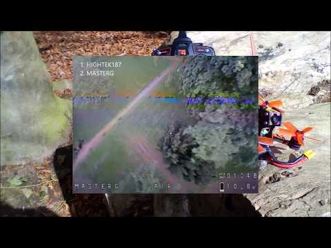 Eachine Lizard95 vs Eachine Lizard95 - FPV Fun Race - Park Action