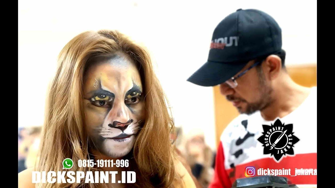 Makeup Character SIMBA The Lion King Jakarta
