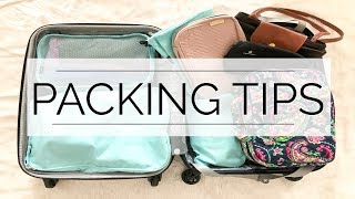 10 Ways To Pack Smarter | My Go-To Packing Tips