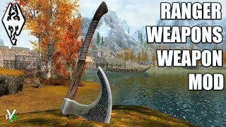 RANGER WEAPONS: Weapon Pack Mod- Xbox Modded Skyrim Mod Showcase