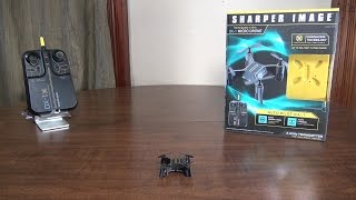 Sharper Image - DX-1 Micro Drone - Review and Flight