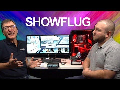Flugsimulator PC Showflug