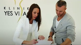 Brano Polak on eyelid correction at YES VISAGE Clinic