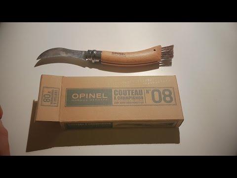 Opinel n° 8 Coltello per Funghi - Mini unboxing