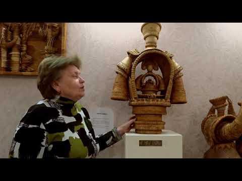 Богиня Берегиня в  Музее Сибирская Береста, г. Новосибирск.232