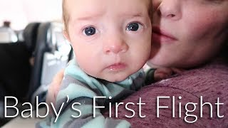 Baby's First Flight - Ballinger Family Goes to Hawaii, Day 1