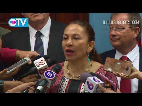 Senadores de Francia conocen avances en salud de Nicaragua