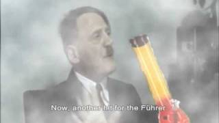 Hitler Gets Blazed for His Birthday....kind of.