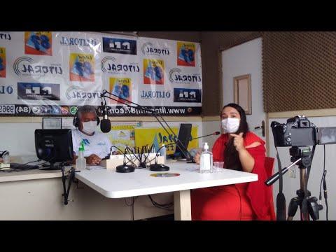Dra. Jarleane Câmara participou do programa Mesa Redonda Litoral 87.9 Maracajaú