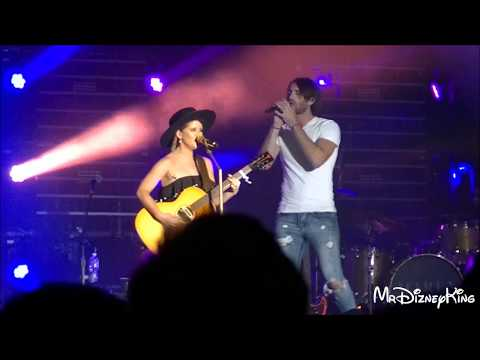 Maren Morris & Fiance Ryan Hurd Sing At State Fair Of Texas 2017 - MrDizneyKing