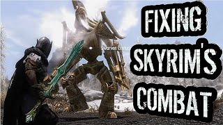 How to Fix Skyrim's Combat With only 7 Mods (Console Friendly)