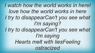 Army Of Anyone - Disappear Lyrics