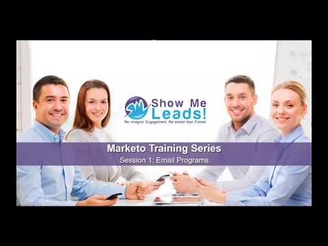 Marketo Training Series - How to Create Email Programs - YouTube