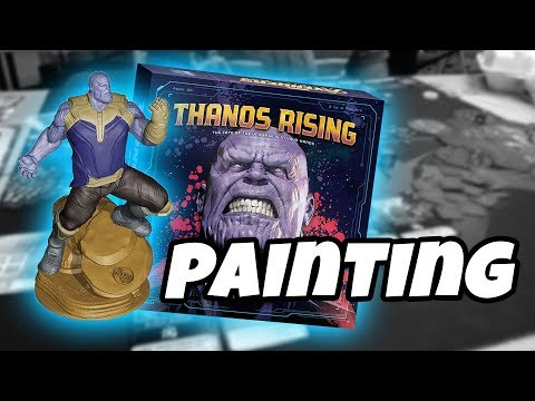 Painting Thanos | THANOS RISING | USAopoly