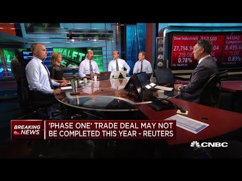 'Phase one' trade deal may not be completed this year: Reuters