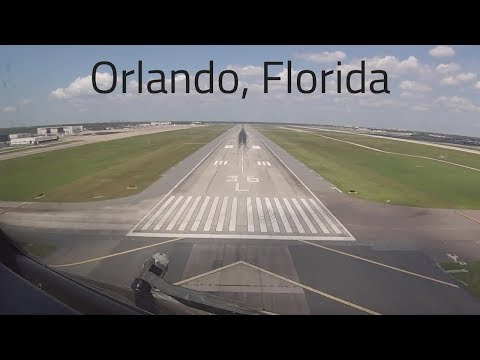 Download Cockpit View Of A Boeing 757 Landing, Orlando International Airport MCO, Florida HD Mp4 3GP Video and MP3