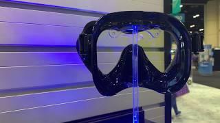 Маска 2020 года японской фирмы TUSA PARAGON S из белого силикона для плавания от компании МагазинCalipso dive shop - видео