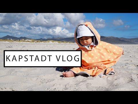 DAS ERSTE MAL AM STRAND IN KAPSTADT & VERLOSUNG   Familien Vlog #34