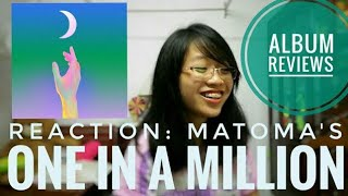 Gambar cover reaction: one in a million (Matoma) FULL ALBUM REVIEWS